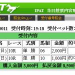 日本ダービーは指数上位2頭の単勝で大丈夫でした
