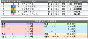 20131110京都1R結果