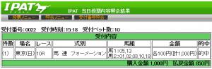 日本ダービー2014年