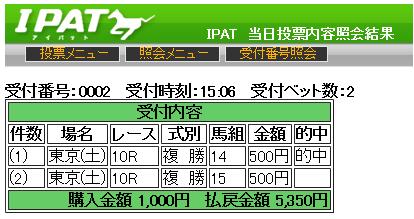 20150530東京10R