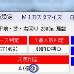 MONSTER8穴馬判定馬が1着激走で単勝6380円的中!