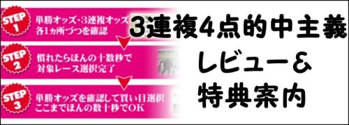 3連複4点的中主義banner