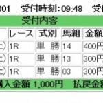 アイ・ウイナー(I-winner)結果検証2011.3.19