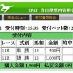 ダイヤモンドステークス2011の回顧(涙