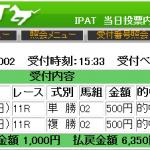 マイラーズカップ(2016年)を単撃ロボ2evolutionが的中!