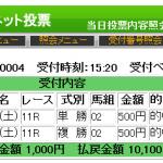 阪神カップをジーニアスやパフォーマンスホースEXなど完璧に的中!