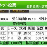 青葉賞はGenius◎+パフォーマンスホースEXの単複勝負!