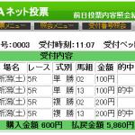 逆転オッズsisetuchoアレンジが単勝4200円をズバリ的中!&こんなレースは見送った方が良さそう。