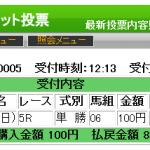 1月7日(日)中山5Rのハーレムラインはいろんなロジックで狙える馬でした。