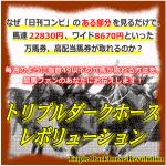 オーシャンステークスはトリプルダークホースレボリューションが単勝3130円を的中!