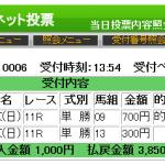高松宮記念はジャッジメント推奨穴馬ファインニードルが1着!
