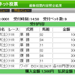 今週も高配当!ジャッジメントと超人が東京スポーツ杯2歳ステークスを大的中です。