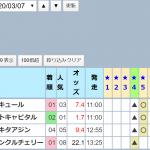 ナスカの☆4(マル秘外厩コース)が大爆発!このパターンに注目してください。