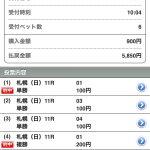 クイーンステークスの単勝4370円を的中!前走ジャッジメントONE選出馬が狙い目。